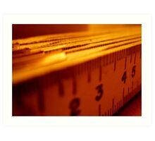 measuring isolation Art Print