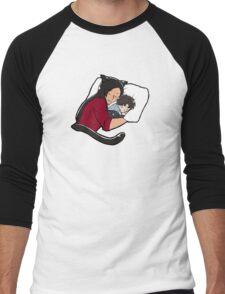 Tiny Katz & Dogs 03 Men's Baseball ¾ T-Shirt
