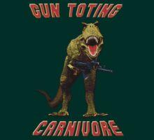 Gun Toting Carnivore II T-Rex by ZeroAlphaActual