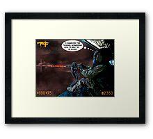 War Games Framed Print