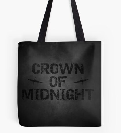 Crown of Midnight Tote Bag