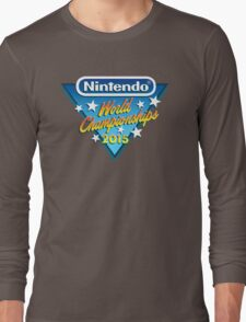 Nintendo World Championships 2015 Logo Long Sleeve T-Shirt