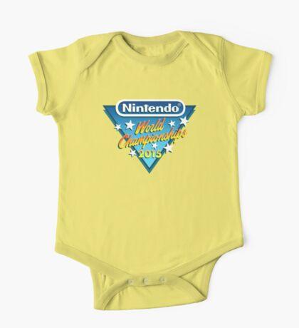 Nintendo World Championships 2015 Logo One Piece - Short Sleeve