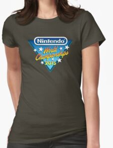 Nintendo World Championships 2015 Logo Womens Fitted T-Shirt