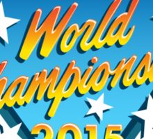 Nintendo World Championships 2015 Logo Sticker