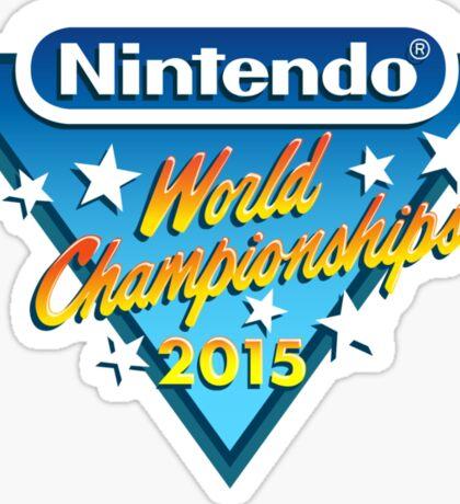 Nintendo World Championships 2015 Logo Sticker