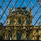 When Old meets New - the Louvre by Mark Elshout