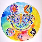 cosmic butterfly II by Kevin McGeeney