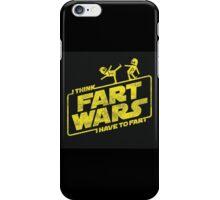 Fart Wars iPhone Case/Skin