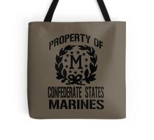 Property Confederate States Marines Tote Bag