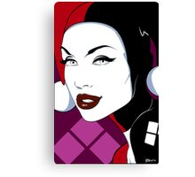 Harley - Nagel Style Canvas Print