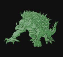 Super Saiyan Bowser (Green Tint) One Piece - Long Sleeve