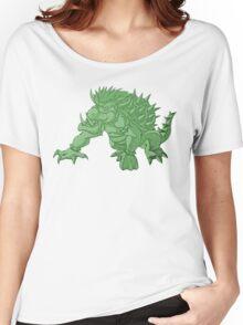 Super Saiyan Bowser (Green Tint) Women's Relaxed Fit T-Shirt