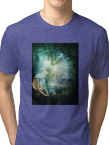 A SIMPLE MOMENT OF PEACEFUL LEISURE Tri-blend T-Shirt
