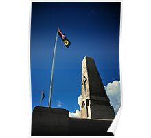 WA State War Memorial Poster