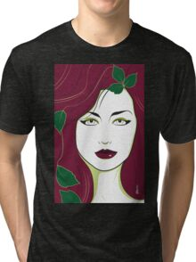 Poison Ivy - Nagel Style Tri-blend T-Shirt