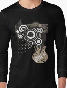 Retro Rock Long Sleeve T-Shirt