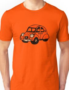 2cv vintage french car citroen Unisex T-Shirt