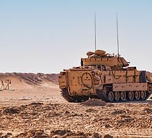 M2A2 BFV ODS on the range by George Bellon
