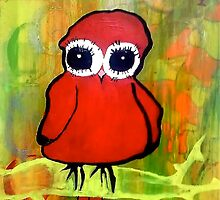 Pink Owl  by Meaghan Tucker