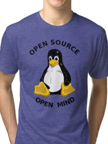 Open Source Open Mind Tri-blend T-Shirt