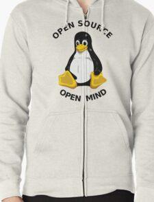 Open Source Open Mind Zipped Hoodie