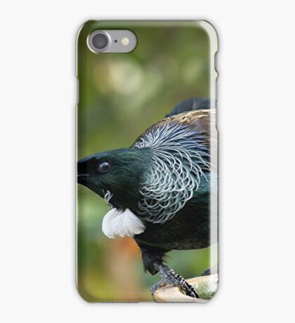 Why the Tui bears the mark of the coward........! iPhone Case/Skin