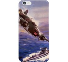 Lockheed HUDSON WW2 Reproduction Propaganda Poster World War 2  iPhone Case/Skin