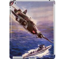 Lockheed HUDSON WW2 Reproduction Propaganda Poster World War 2  iPad Case/Skin