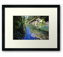 Mosaic Waters Framed Print