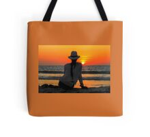 Sunset Rota del sol Ecuador Tote Bag