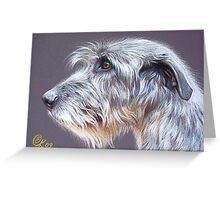 Irish Wolfhound #2 Greeting Card