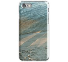 Light and Shadows in the Surf  iPhone Case/Skin