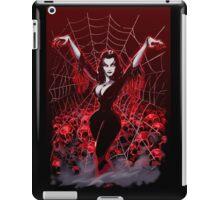 Vampira Spider web gothic iPad Case/Skin
