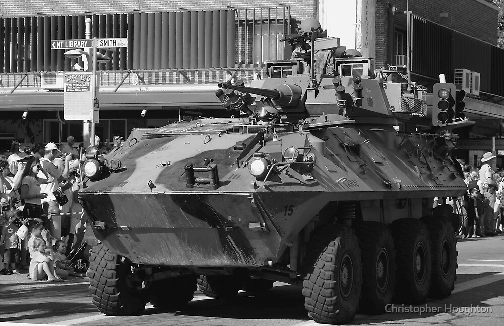 Armoured Fighting Vehicle ASLAV by Christopher Houghton