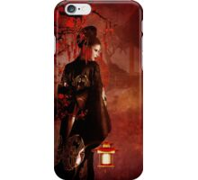 Sakura Red iPhone Case/Skin