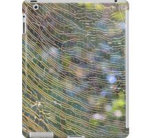 Golden Web iPad Case/Skin