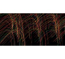 A Ballet of Lights Photographic Print