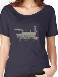 Old steam locomotive Women's Relaxed Fit T-Shirt