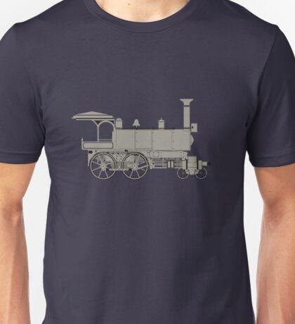 Old steam locomotive Unisex T-Shirt