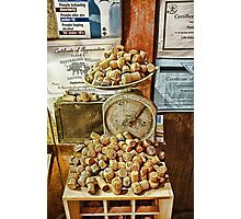 Give me a Cork Photographic Print