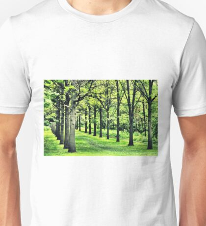 Tree Alley at St. James Unisex T-Shirt