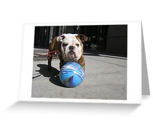 MY BALL Greeting Card