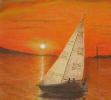 Sailing Home by Hilary Robinson