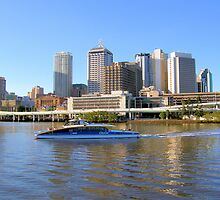 Brisbane Riverside......Australia by JuliaWright