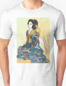Sitting Geisha T-Shirt