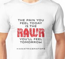 Pain Today - Rawr Tomorrow Unisex T-Shirt