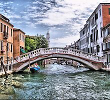 Under The Bridges Of Venice by naturelover