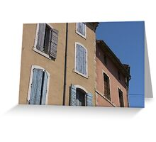 Typical Provence Greeting Card