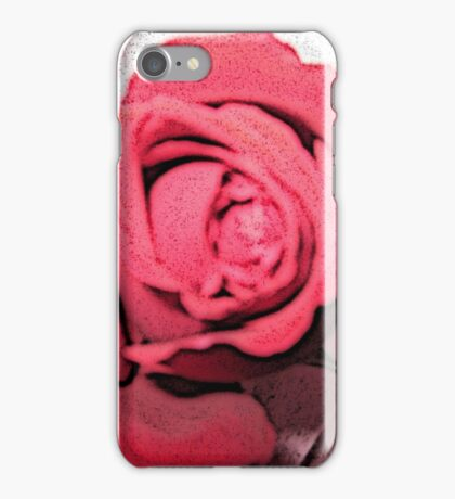 Abstract Red Rose  iPhone Case/Skin